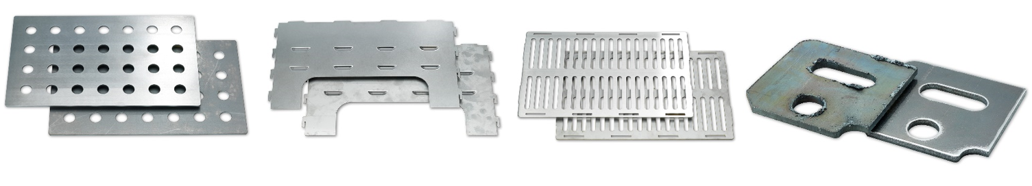 What sheet metal products can the RB series process?