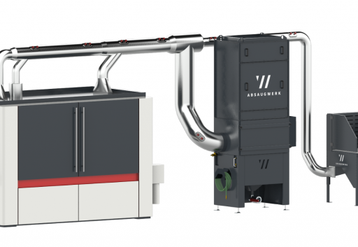 High-quality extraction solutions for the manufacturing industry to protect people, machines and the environment. 1